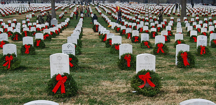 20 Years, 20 Ways to Give Back: Wreaths Across America